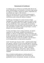 Humanização de Atendimento.doc