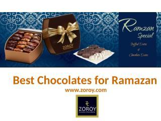Best Chocolates for Ramazan.pptx