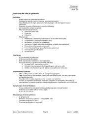 Describe the role of cytokines.doc