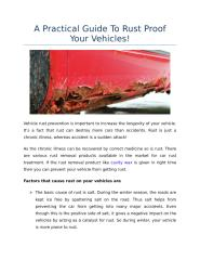 A Practical Guide To Rust Proof Your Vehicles!.docx