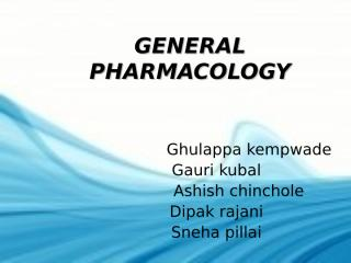 general Pharmacology.ppt