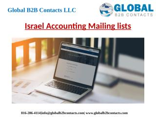 Israel Accounting Mailing lists.pptx