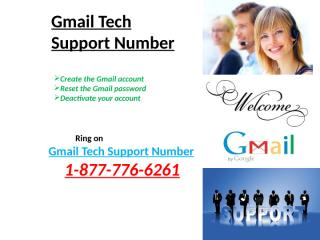 Gmail –Tech- Support- Number (4).pptx