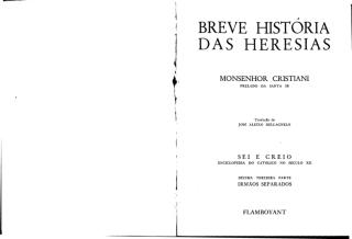 Breve História das Heresias - Cônego Cristiani.pdf