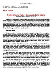 (Wafat 1331H) Syeikh Wan 'Ali Kutan 2.pdf