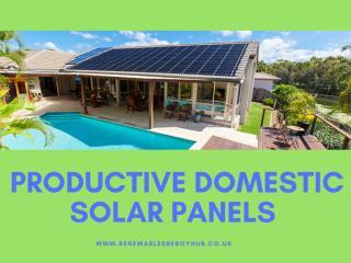 Productive Domestic Solar Panels.pdf