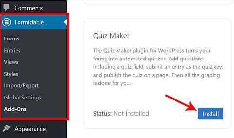 wordpress quiz maker