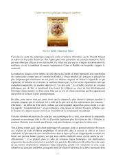 lettre ouverte à celui qui critique le soufisme , sidi al alawi (ra), éxtraits.pdf