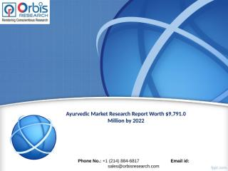 Ayurvedic Market Outlook and Forecast 2022.ppt