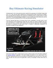 Buy Ultimate Racing Simulator.pdf