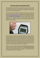 Basic Facts about Drug and Alcohol Testing.pdf