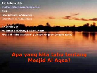 masjidil aqsa direkayasa.pps