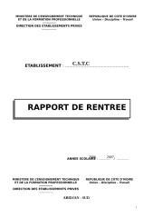 RAPPORTPRIVE DE RENTREE .doc