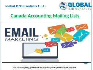 Canada Accounting Mailing Lists.pptx